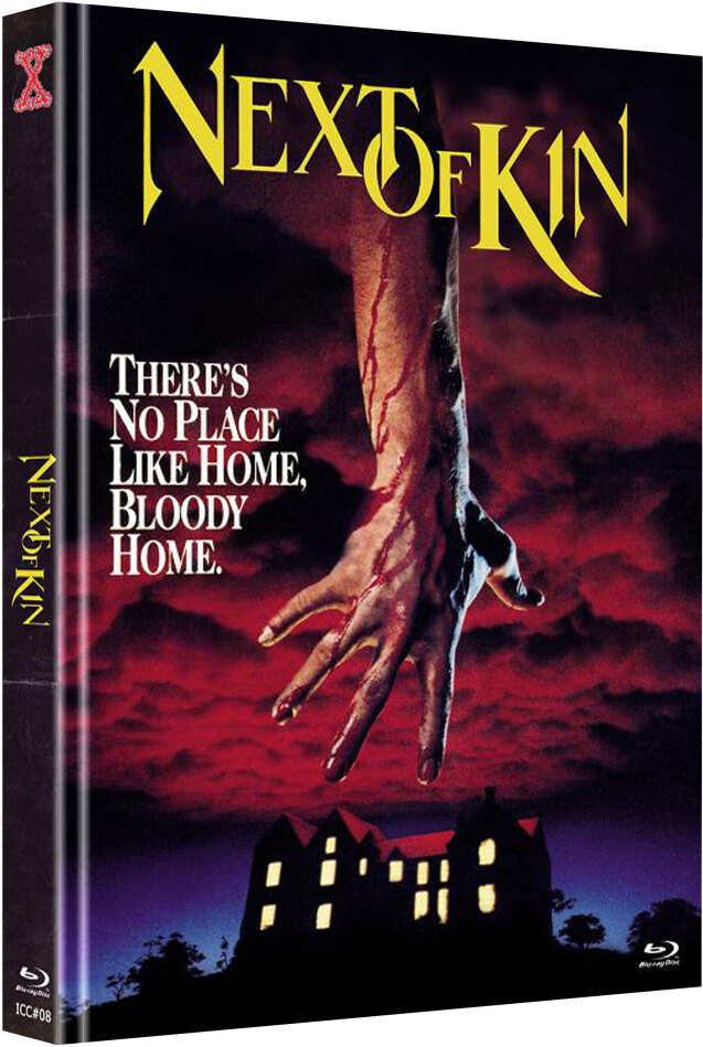 Next of Kin (1982) (Cover B, The X-Rated International Cult Collection, Edizione Limitata, Mediabook, Uncut, Blu-ray + DVD)