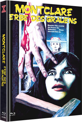 Montclare - Erbe des Grauens (1982) (Cover C, The X-Rated International Cult Collection, Limited Edition, Mediabook, Uncut, Blu-ray + DVD)