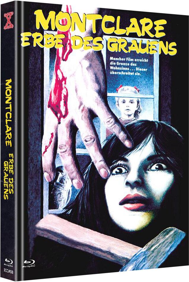 Montclare - Erbe des Grauens (1982) (Cover C, The X-Rated International Cult Collection, Edizione Limitata, Mediabook, Uncut, Blu-ray + DVD)