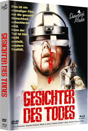 Gesichter des Todes (1978) (Cover A, Limited Edition, Mediabook, Uncut, Blu-ray + DVD)