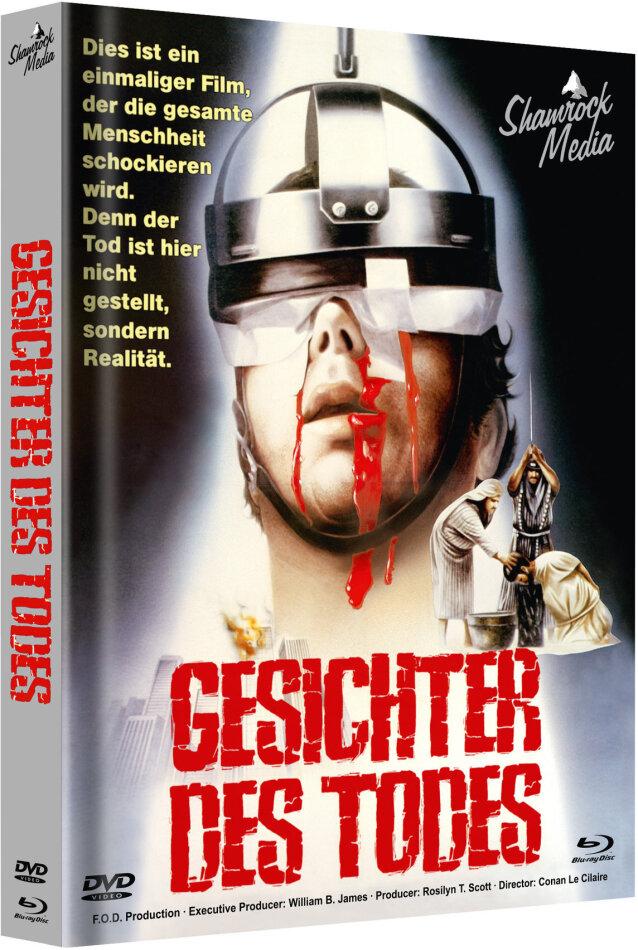 Gesichter des Todes (1978) (Cover A, Edizione Limitata, Mediabook, Uncut, Blu-ray + DVD)
