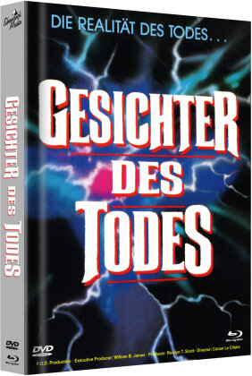Gesichter des Todes (1978) (Cover B, Limited Edition, Mediabook, Uncut, Blu-ray + DVD)
