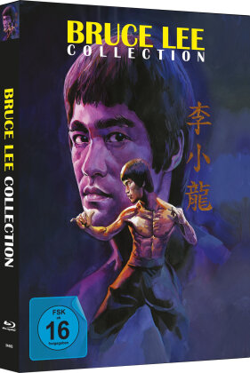 Bruce Lee Collection (Cover B, Limited Edition, Mediabook, Uncut, 4 Blu-rays)