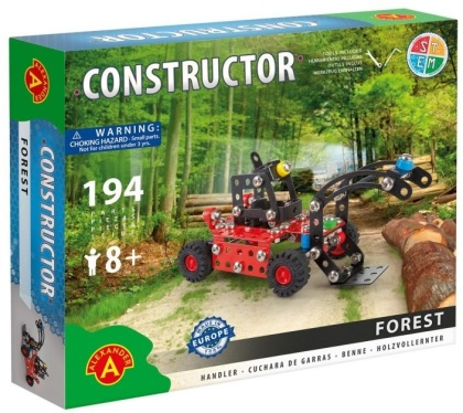 "Constructor - Holzgreifer ""Forest"" - 194 Teile"