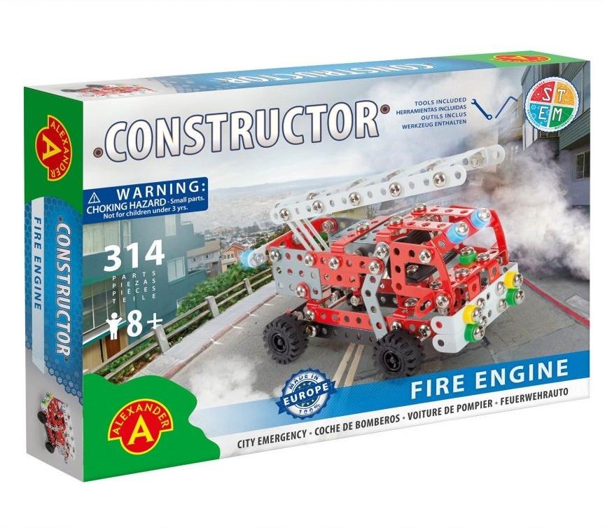 Constructor - Feuerwehrwagen - 314 Teile