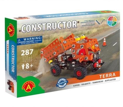 "Constructor - Kipplaster ""Terra"" - 287 Teile"