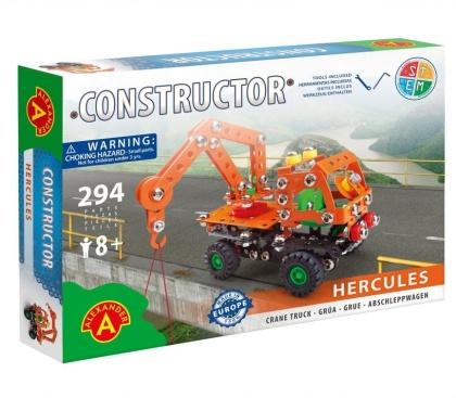 """Constructor - Kranwagen """"Hercules"""" - 294 Teile"""