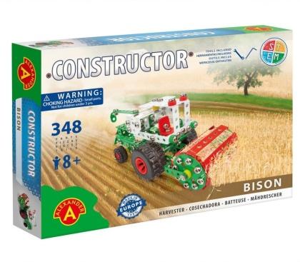 """Constructor - Mähdrescher """"Bison"""" - 348 Teile"""