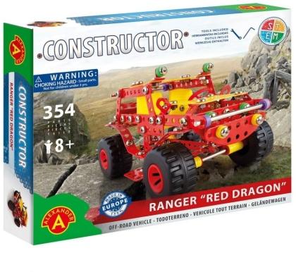 """Constructor - Geländewagen """"Red Dragon"""" - 354 Teile"""