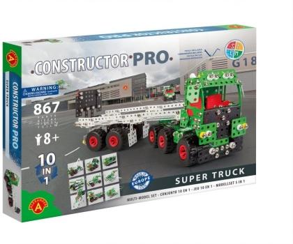 "Constructor Pro - Bausatz 10-in-1 ""Super Truck"" - 867 Teile"