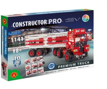 """Constructor Pro - Bausatz 10-in-1 """"Premium Truck"""" - 1141 Teile"""
