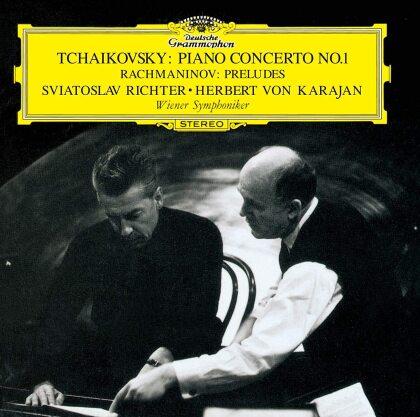 Peter Iljitsch Tschaikowsky (1840-1893), Sergej Rachmaninoff (1873-1943), Herbert von Karajan, Sviatoslav Richter & Wiener Symphoniker - Piano Concerto 1, Rachmaninoff: Preludes (Japan Edition)