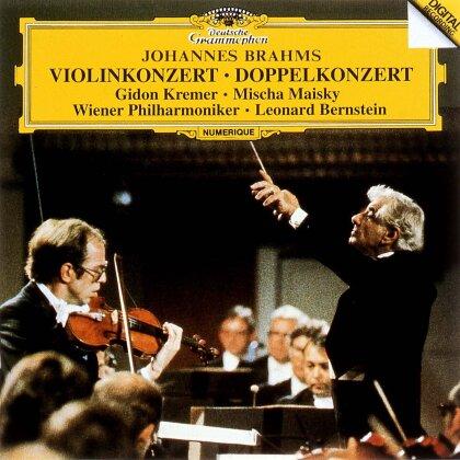 Johannes Brahms (1833-1897), Leonard Bernstein (1918-1990), Gidon Kremer, Mischa Maisky & Wiener Philharmoniker - Brahms: Violin Concertos Opp 77 & 102 (Japan Edition)