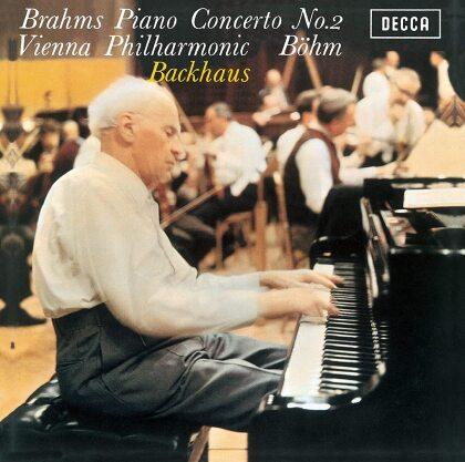 Johannes Brahms (1833-1897), Wolfgang Amadeus Mozart (1756-1791), Karl Böhm, Wilhelm Backhaus & Vienna Philharmonic - Brahms: Piano Concerto 2 / Mozart: Piano Cto 27 (Japan Edition)