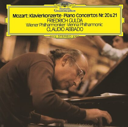 Wolfgang Amadeus Mozart (1756-1791), Claudio Abbado, Friedrich Gulda (1930-2000) & Wiener Philharmoniker - Piano Concertos 20 & 21 (Japan Edition)