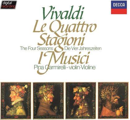 I Musici, Antonio Vivaldi (1678-1741) & Pina Carmirelli - Four Seasons - Die vier Jahreszeiten (Japan Edition)