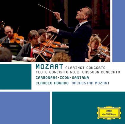 Claudio Abbado, Wolfgang Amadeus Mozart (1756-1791), Jacques Zoon, Alessandro Carbonare, Guilhaume Santana, … - Clarinet Cto / Flute Cto 2 / Bassoon Cto (Japan Edition)