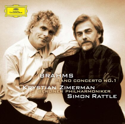 Johannes Brahms (1833-1897), Sir Simon Rattle, Krystian Zimerman & Berliner Philharmoniker - Piano Concerto 1 (Japan Edition)