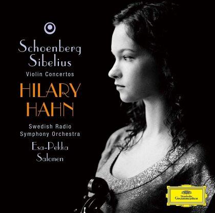 Arnold Schönberg (1874-1951), Jean Sibelius (1865-1957), Esa-Pekka Salonen (*1958), Hilary Hahn & Swedish Radio Symphony Orchestra - Schoenberg: Violin Cto / Sibelius: Violin Cto Op47 (Japan Edition)