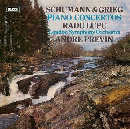 Robert Schumann (1810-1856), Edvard Grieg (1843-1907), André Previn (*1929), Radu Lupu & London Symphony Orchestra - Piano Concertos (Japan Edition)