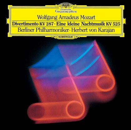 Wolfgang Amadeus Mozart (1756-1791), Herbert von Karajan & Berliner Philharmoniker - MoDivertimento In B K287 Eine kleine Nachtmusik KV 525 (Japan Edition)