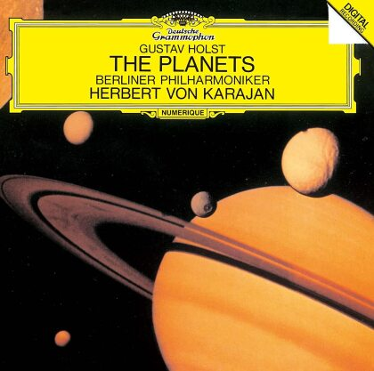 Gustav Holst (1874-1934), Herbert von Karajan & Berliner Philharmoniker - The Planets - Die Planeten (Japan Edition)