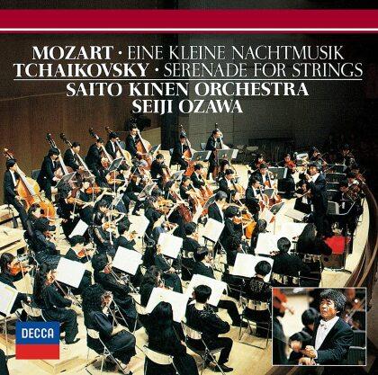 Wolfgang Amadeus Mozart (1756-1791), Peter Iljitsch Tschaikowsky (1840-1893), Seiji Ozawa & Saito Kinen Orchestra - Eine kleine Nachtmusik, Serenade For Strings (Japan Edition)