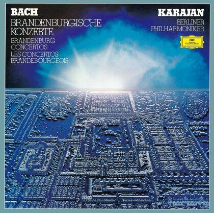 Johann Sebastian Bach (1685-1750), Herbert von Karajan & Berliner Philharmoniker - BBrandenburg Concertos - Brandenburgische Konzerte (Japan Edition)