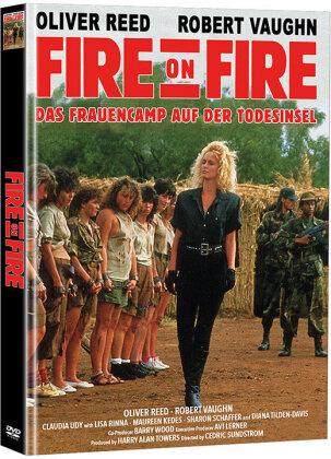 Fire on Fire - Das Frauencamp auf der Todesinsel (1988) (Cover A, Edizione Limitata, Mediabook, 2 DVD)