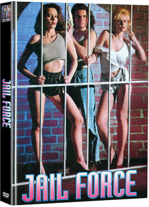 Jail Force (1991) (Cover A, Limited Edition, Mediabook, 2 DVDs)
