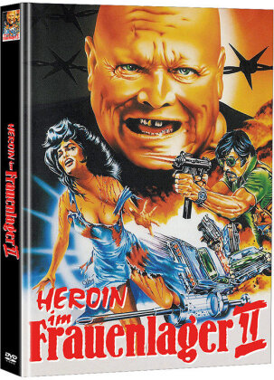 Heroin im Frauenlager 2 (1973) (Cover A, Limited Edition, Mediabook, 2 DVDs)