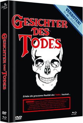 Gesichter des Todes (1978) (Cover D, Limited Edition, Mediabook, Uncut, Blu-ray + DVD)