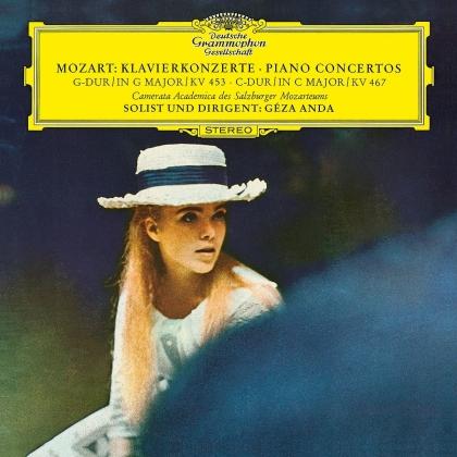 Wolfgang Amadeus Mozart (1756-1791), Geza Anda & Camerata Academica des Mozarteums Salzburg - Piano Concertos Nos. 17 & 21 (2021 Reissue, LP)