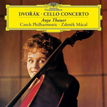 Antonin Dvorák (1841-1904), Zdenek Mácal, Anja Thauer & Czech Philharmonic - Cello Concerto In B-Minor Op. 104 (2021 Reissue, LP)