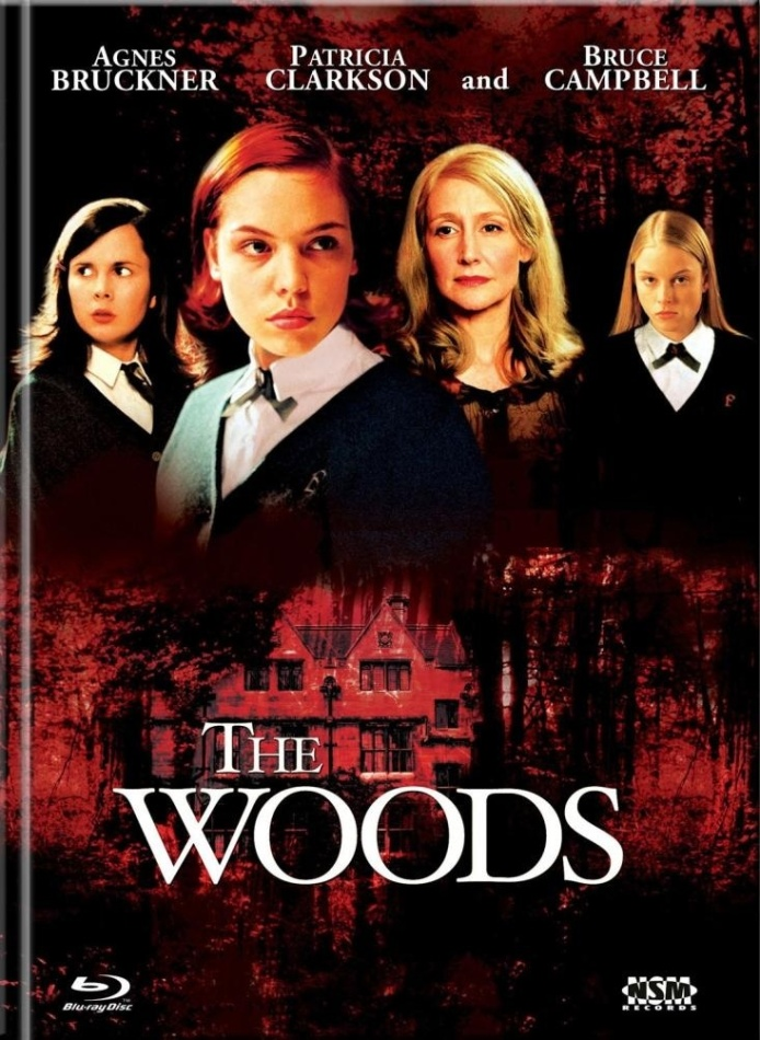 The Woods (2006) (Cover B, Collector's Edition Limitata, Mediabook, Blu-ray + DVD)