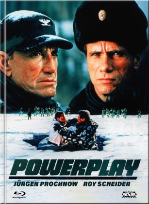 Powerplay (1990) (Cover B, Limited Collector's Edition, Mediabook, Blu-ray + DVD)