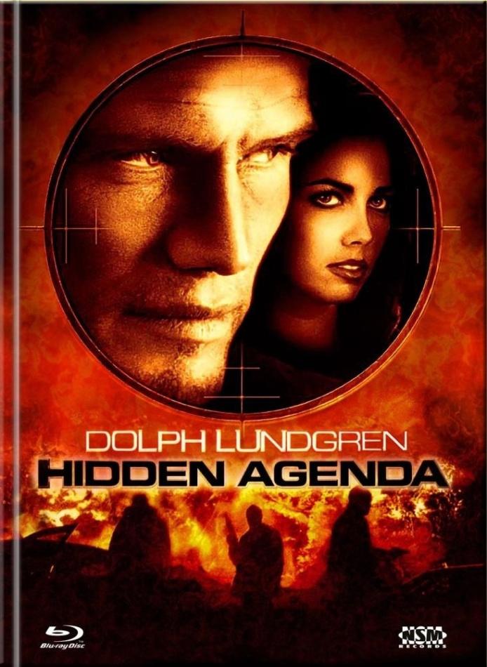 Hidden Agenda (2001) (Cover A, Limited Collector's Edition, Mediabook, Blu-ray + DVD)