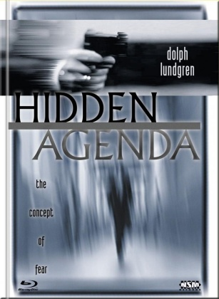 Hidden Agenda (2001) (Cover B, Limited Collector's Edition, Mediabook, Blu-ray + DVD)