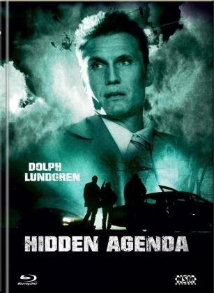 Hidden Agenda (2001) (Cover C, Limited Collector's Edition, Mediabook, Blu-ray + DVD)