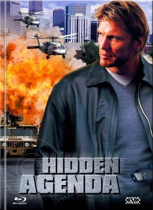 Hidden Agenda (2001) (Cover D, Limited Collector's Edition, Mediabook, Blu-ray + DVD)