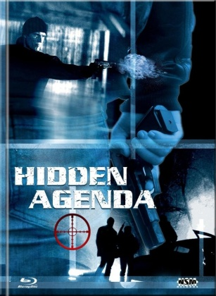 Hidden Agenda (2001) (Cover E, Limited Collector's Edition, Mediabook, Blu-ray + DVD)