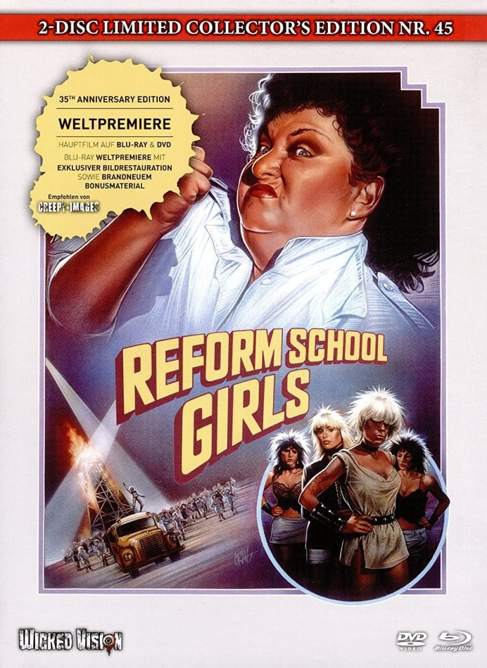 Reform School Girls (1986) (Cover A, Limited Collector's Edition, Mediabook, Blu-ray + DVD)