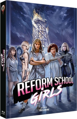Reform School Girls (1986) (Cover C, Limited Collector's Edition, Mediabook, Blu-ray + DVD)