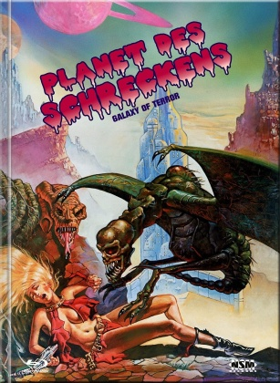 Planet des Schreckens (1981) (Cover A, Limited Collector's Edition, Mediabook, Blu-ray + DVD)