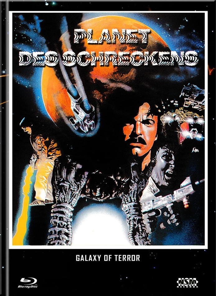 Planet des Schreckens (1981) (Cover B, Limited Collector's Edition, Mediabook, Blu-ray + DVD)