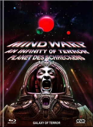 Mind Warp: An Infinity of Terror - Planet des Schreckens (1981) (Cover C, Limited Collector's Edition, Mediabook, Blu-ray + DVD)