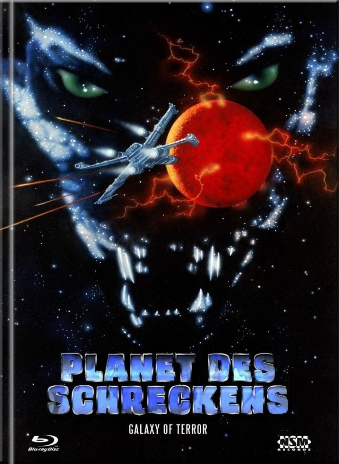 Planet des Schreckens (1981) (Cover D, Collector's Edition Limitata, Mediabook, Blu-ray + DVD)