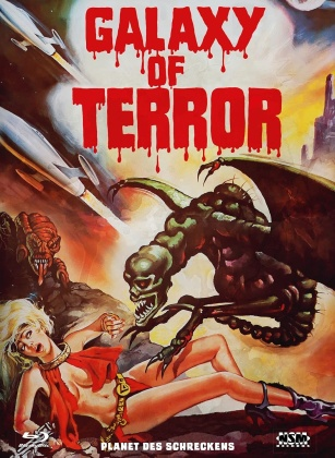 Galaxy of Terror (1981) (Cover E, Limited Collector's Edition, Mediabook, Blu-ray + DVD)