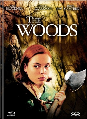 The Woods (2006) (Cover A, Limited Collector's Edition, Mediabook, Blu-ray + DVD)