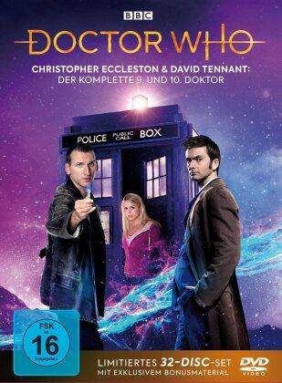 Doctor Who - Die Christopher Eccleston und David Tennant Jahre: Der komplette 9. und 10. Doktor (Limited Edition, 30 DVDs)